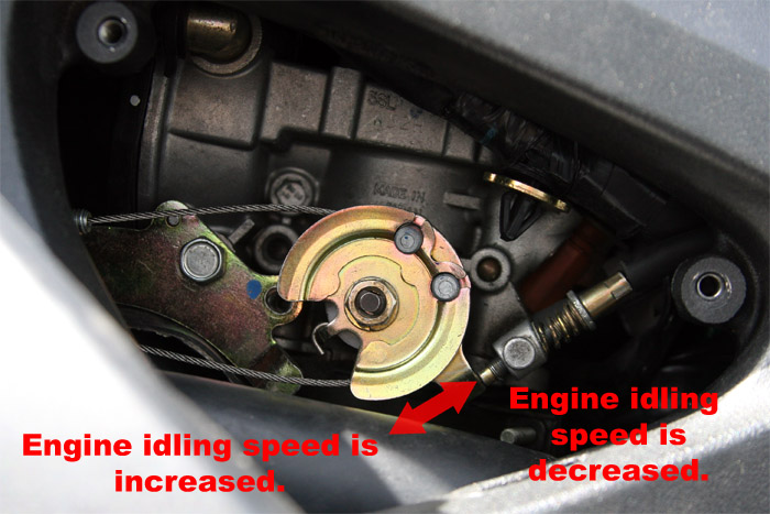 How to: Adjust Idle on R6 03 04 05 - R6Messagenet com